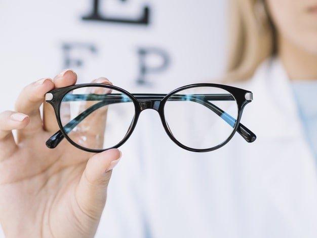 tanda mata minus - kacamata